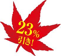 21%off